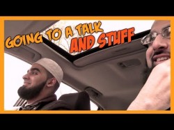 Going to a talk/Racing a Ferrari – Brothers hanging out #3