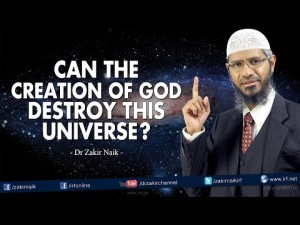 Can the Creation of the God destroy this Universe?