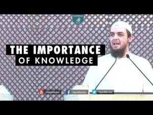 The Importance of Knowledge – Tim Humble